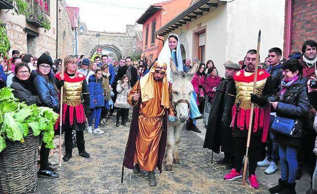 Los belenes vivientes de la provincia de Valladolid