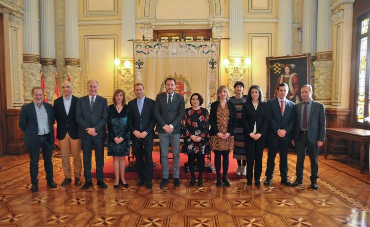 Toma de posesión de nuevos funcionarios en el Ayuntamiento de Valladolid