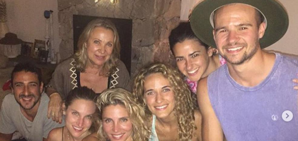 Elsa Pataky celebra la Navidad en Australia con su familia