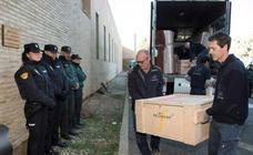 Sijena pide a la Guardia Civil trasladar desde Lérida la obra de arte que falta