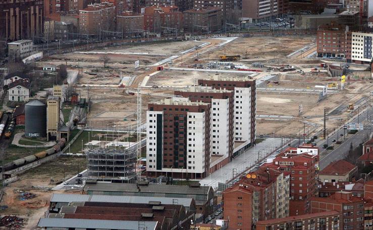 Así era Valladolid hace diez años