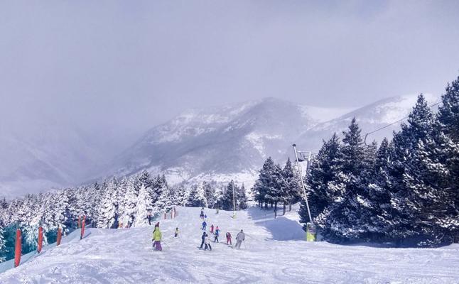 El fin de año sobre la nieve de Aramón