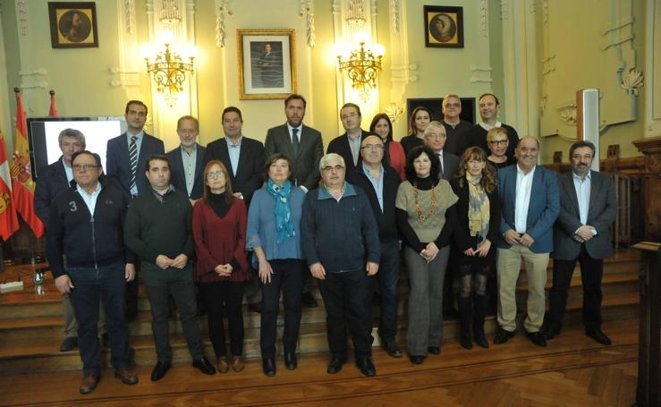 Reunión de la Comunidad Urbana de Valladolid