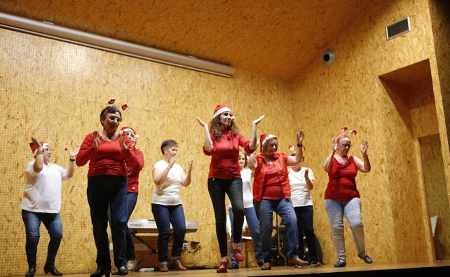AFA Salamanca ambienta la Navidad con su festival