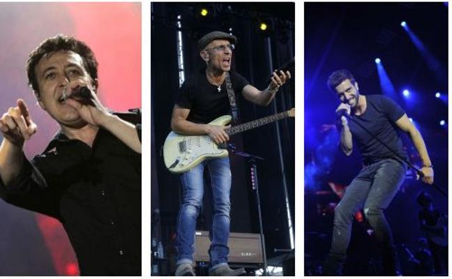 Manolo García, Fito, Alborán y Pastora Soler, entre los conciertos más sonados de 2018 en Valladolid