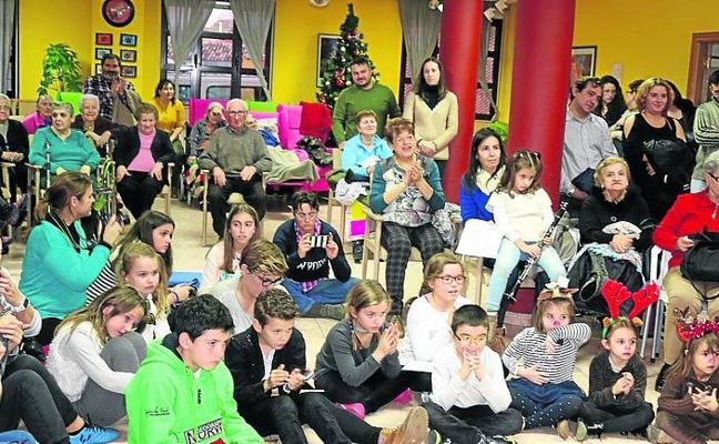 Música navideña en Baltanás