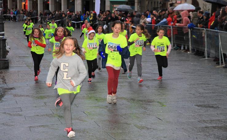 La carrera de Fin de Año celebrada en Segovia (Primera)