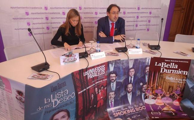 21 propuestas de teatro, danza y música conforman el Invierno Cultural de Palencia