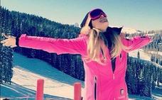 Paris Hilton, de vacaciones en la nieve con su novio Chris Zylka