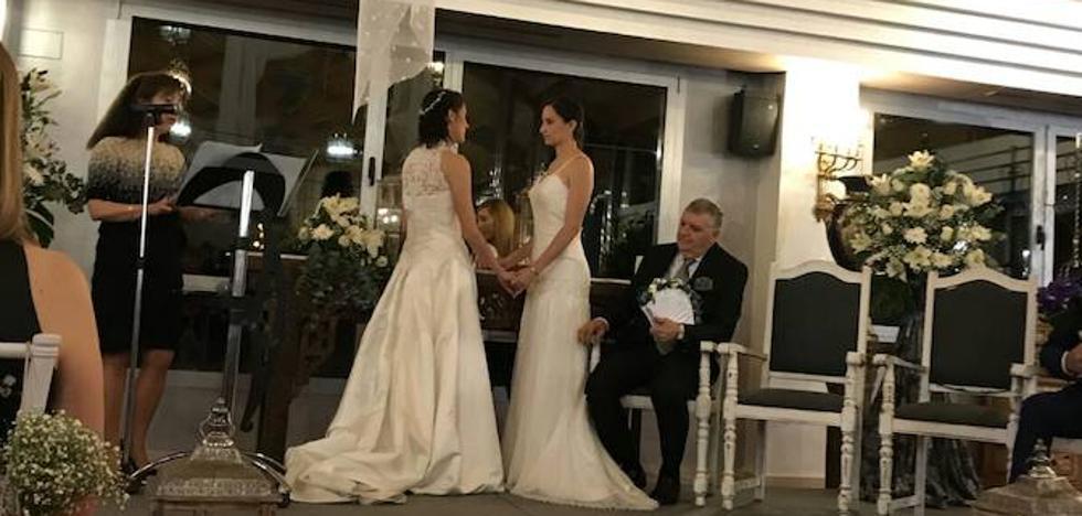 Más de 150 parejas se dieron el 'sí quiero' ante notario en 2017 en la región