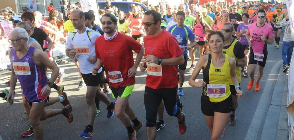 El medio maratón de Tordesillas, el mejor de Castilla y León