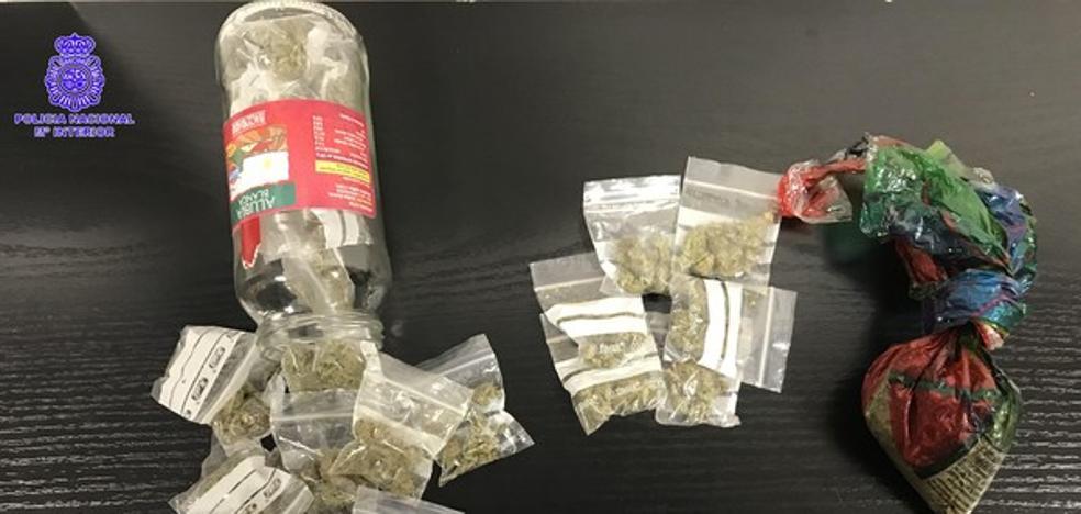 Detenido un hombre en Valladolid cuando portaba más de 75 gramos de marihuana