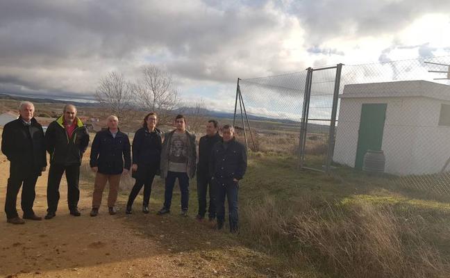 La Vid de Ojeda ampliará el depósito para garantizar el agua