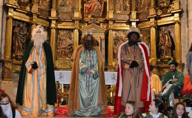 Los Reyes Magos llegan a Astudillo