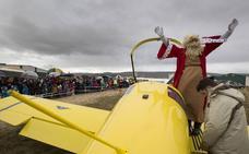 Los Reyes Magos aterrizan en Ávila pese al mal tiempo