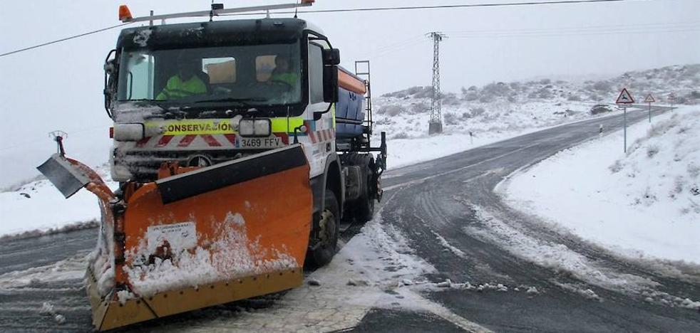 Activado el plan de vialidad en Ávila por previsión de nevadas