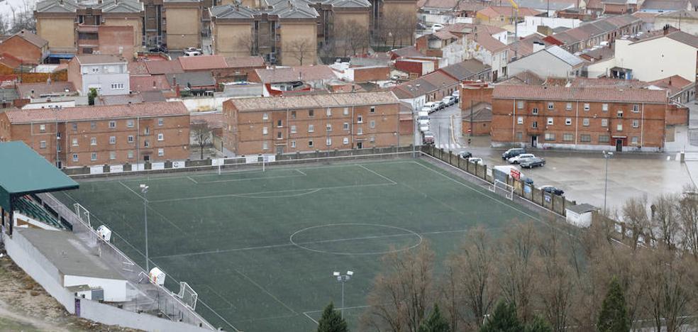Solo un equipo de Palencia juega la jornada por culpa de la nieve