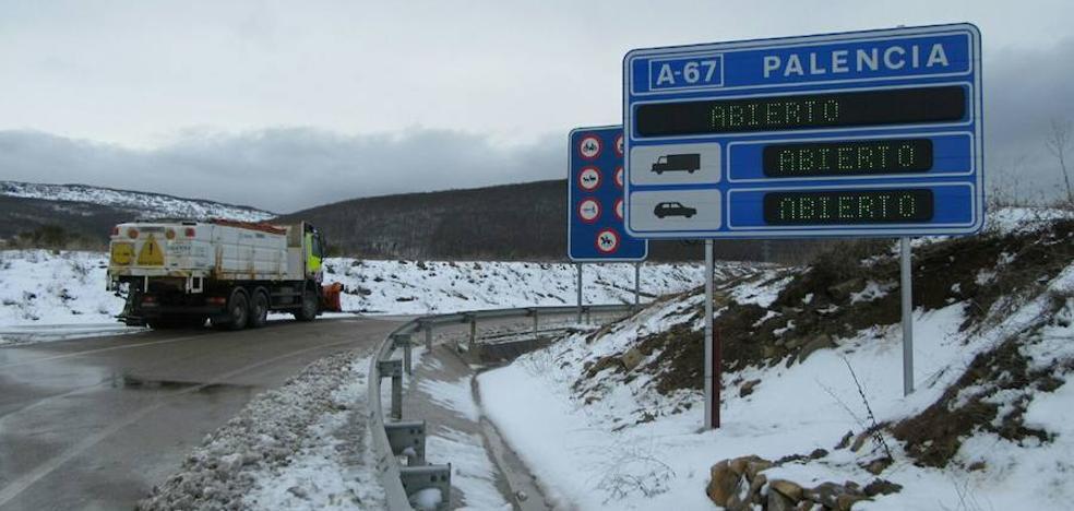 El tráfico por la A-67 hacia Cantabria se restablece
