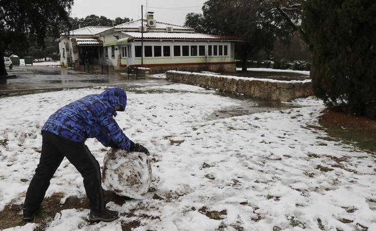 Nieve en Palencia