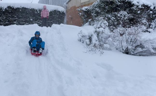 Recomendación de no llevar a los niños al colegio mañana en Ávila