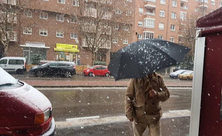 Nieve en Valladolid