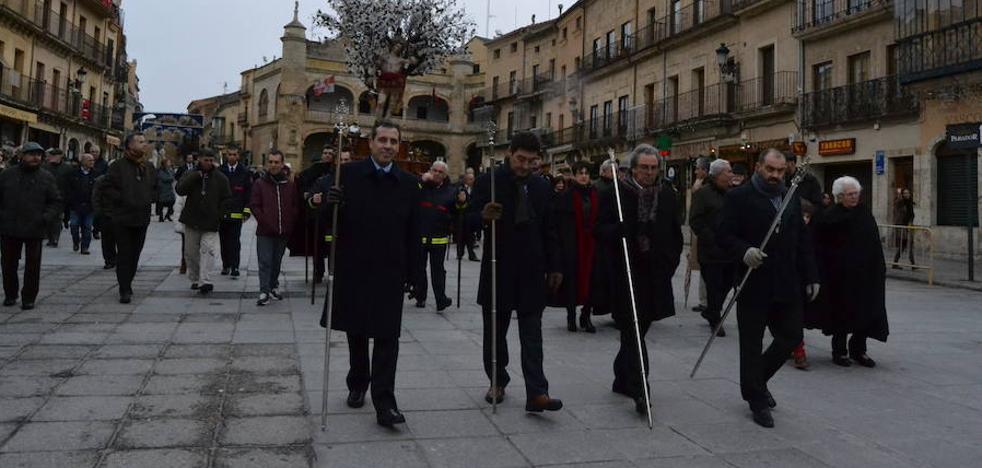 El traslado de San Sebastián a la catedral abre los actos en honor al patrón de la localidad