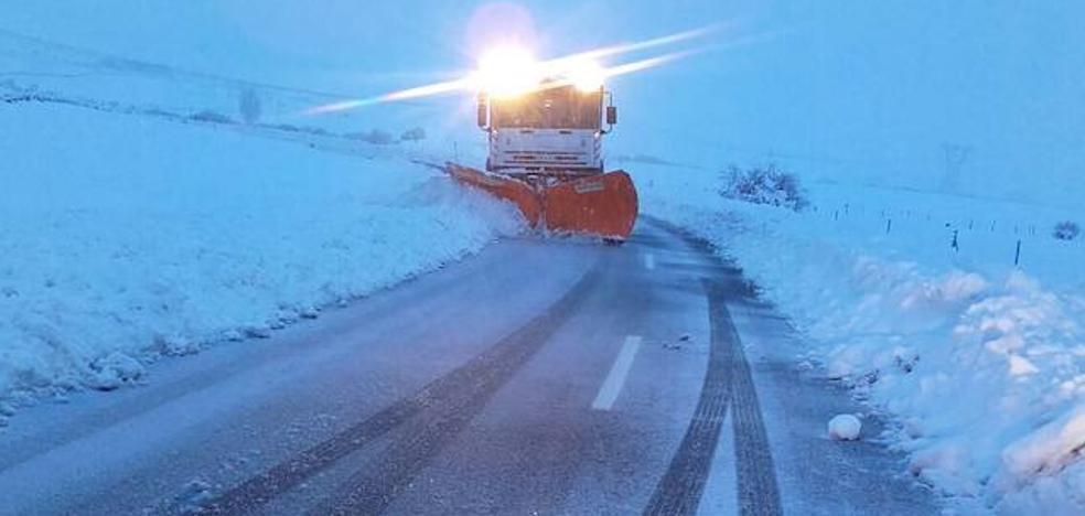 Los pueblos del Nordeste de Segovia registran mínimas de 14,7 bajo cero