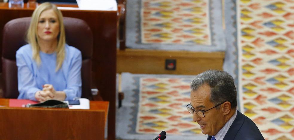 El PP abandona la comisión de corrupción de la Asamblea de Madrid