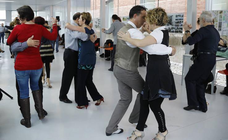 Pasión por el tango en Palencia