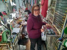 «El género no es peor porque se venda en un mercadillo»
