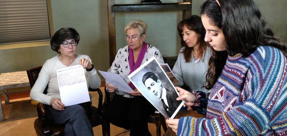 La carta de un fusilado de Valladolid llega a su familia 80 años después