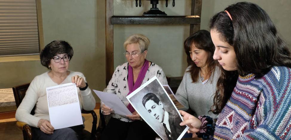 Y 81 años después, reciben la última carta de su familiar fusilado
