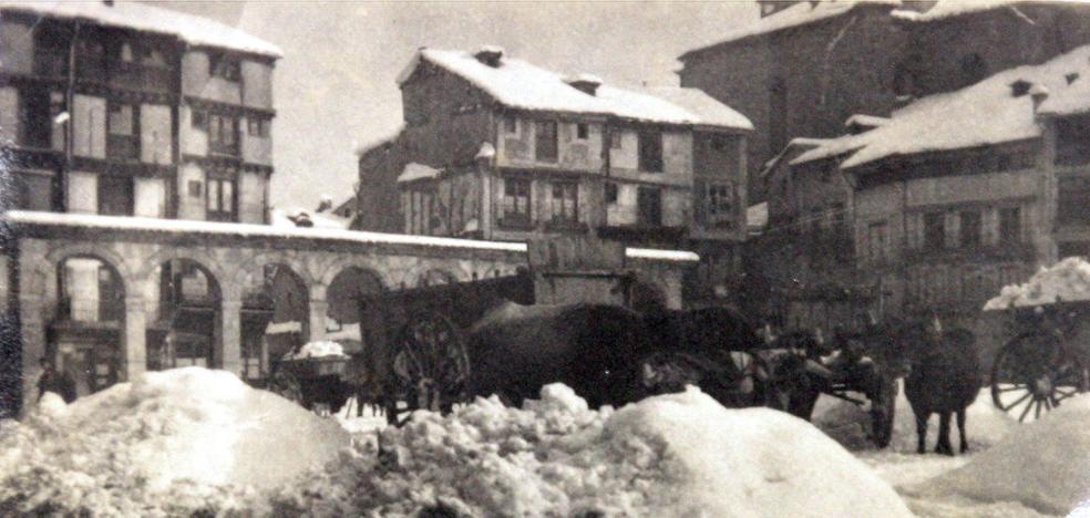 Las nevadas mas recordadas de la historia en Segovia