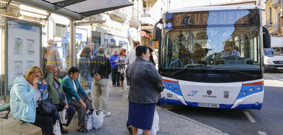 El transporte público urbano superó el pasado año los 12,8 millones de usuarios
