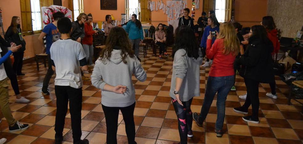 Jóvenes solidarios de cuatro países conviven una semana en Ciudad Rodrigo