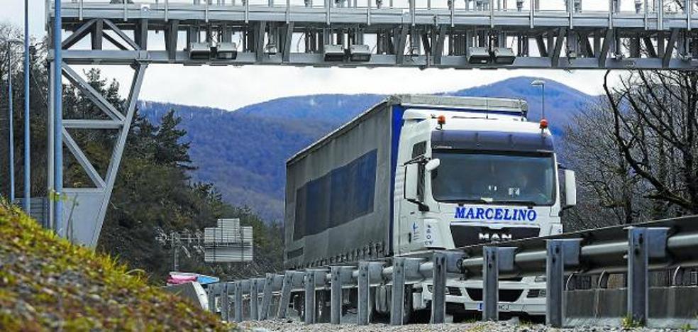 El primer peaje para camiones empieza a cobrarse en Guipúzcoa