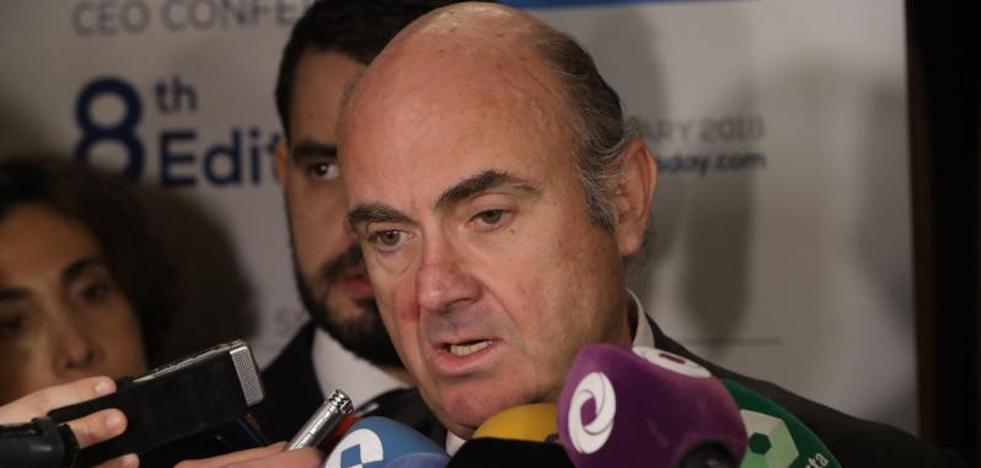 De Guindos responde a Rato: «Bankia está ahora bien gestionada y es solvente»