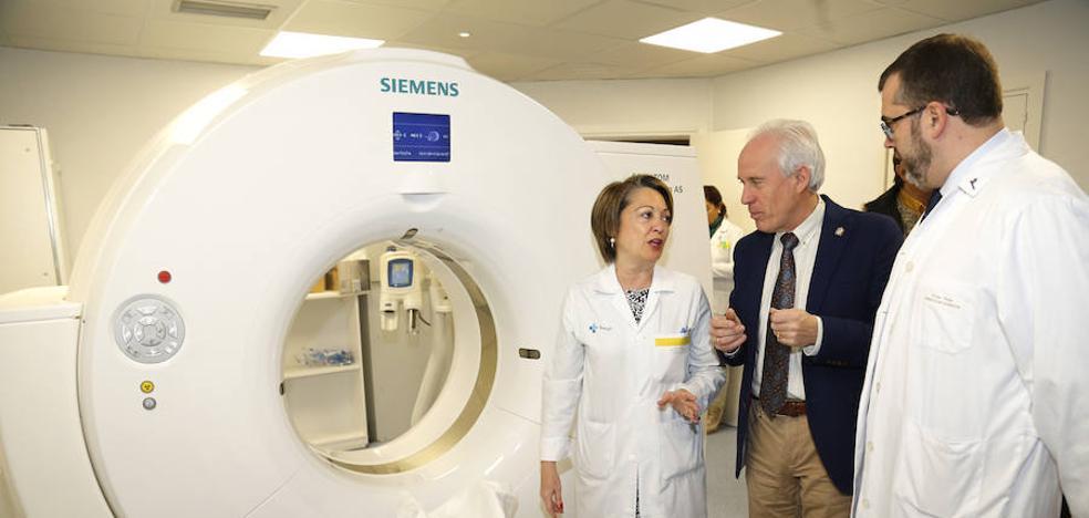 El hospital estrena un nuevo TAC de última generación