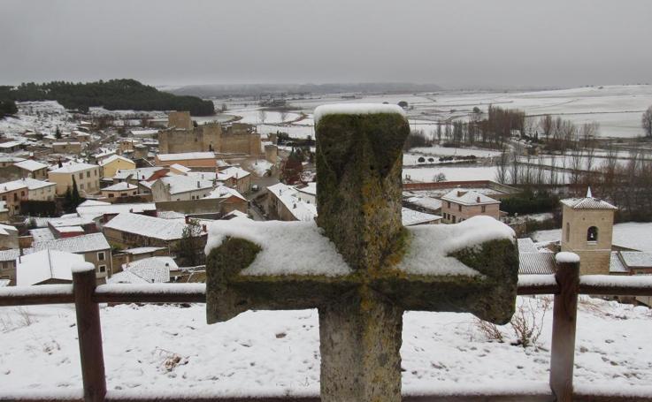 La nieve se asoma a la provincia de Valladolid