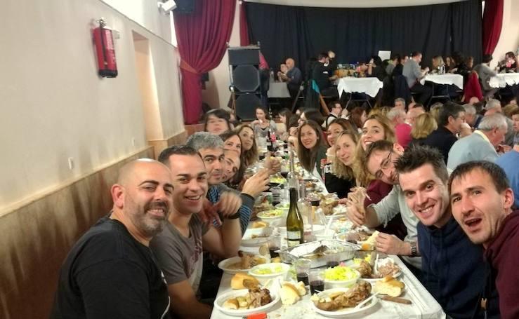 Cena de hermandad en Castrillo de Don Juan