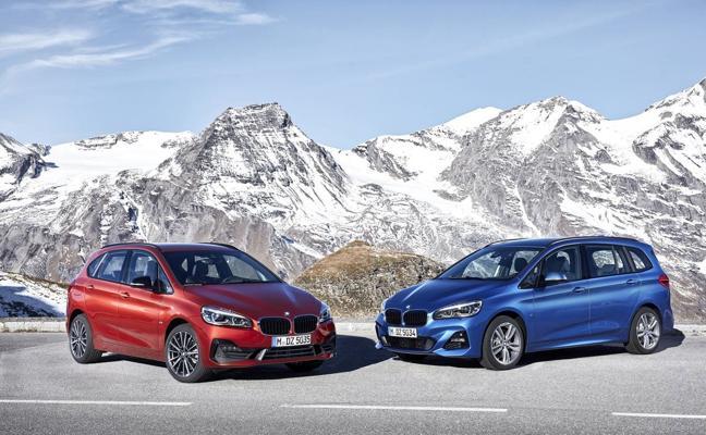 BMW Serie 2 Active Tourer y Gran Tourer, segunda generación