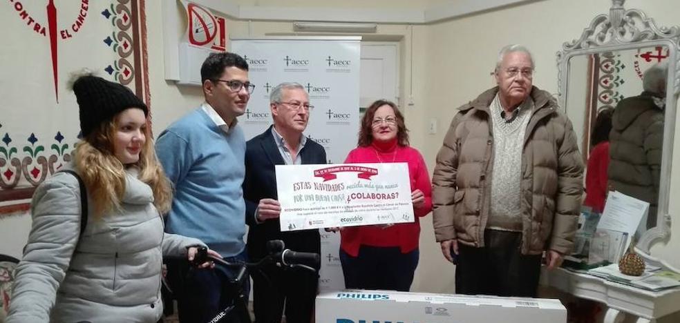 Palencia recicla 7.000 kilos de vidrio en una campaña de la Asociación Contra el Cáncer