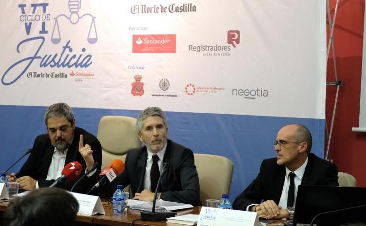 VI Ciclo de la Justicia El Norte de Castilla - Santander en Valladolid