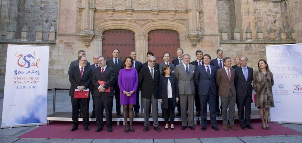 El Gobierno eleva a 500.000 euros su aportación a la Oficina del VIII Centenario