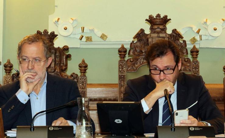 Pleno en el Ayuntamiento de Valladolid