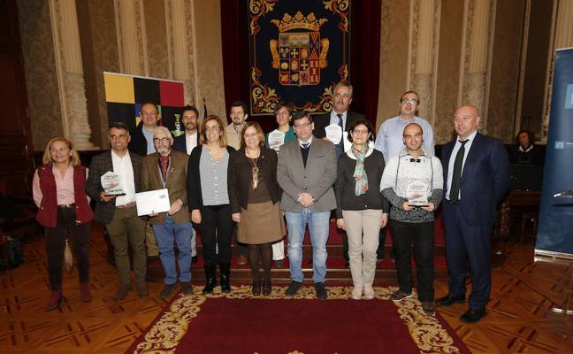 Palencia premia a tres empresas y un emprendedor por sus proyectos tecnológicos