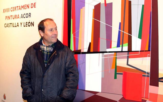 El 'árbol' postcubista de Luis Repiso merece el XVIII Premio Acor de Pintura