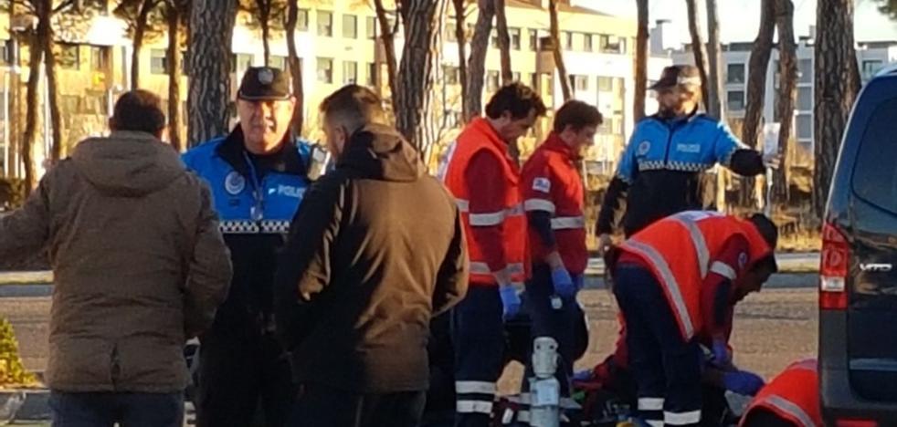 Muere un motorista al colisionar contra una furgoneta junto al Pinar de Jalón