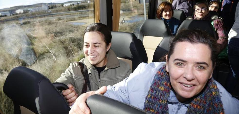 La línea desde Guardo y Cervera a las fábricas de Aguilar de Campoo suma 3.000 viajeros en tres meses