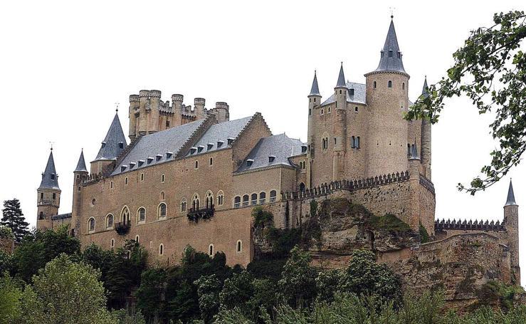 La belleza del Alcázar de Segovia